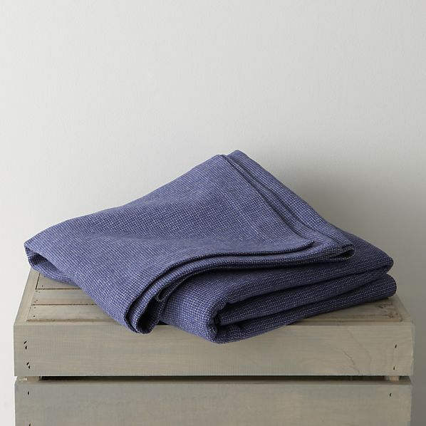 Geneva Blue Full-Queen Blanket