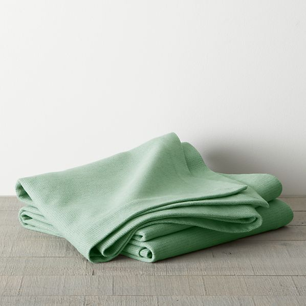 Geneva Green Blanket