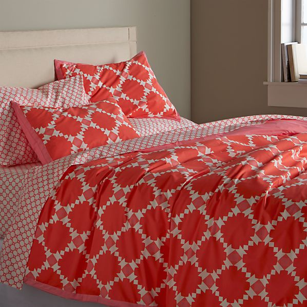 Genevieve King Duvet Cover