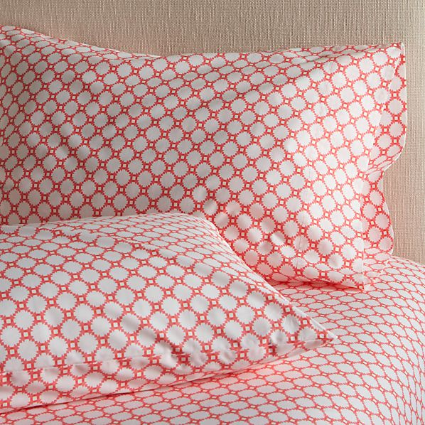 Set of 2 Genevieve Standard Pillowcases