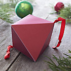 Small Red and Pink Geometric Box.
