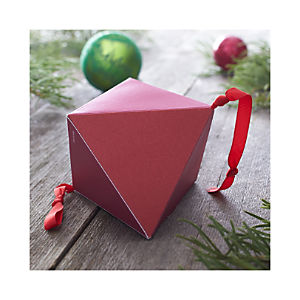 Small Red and Pink Geometric Box