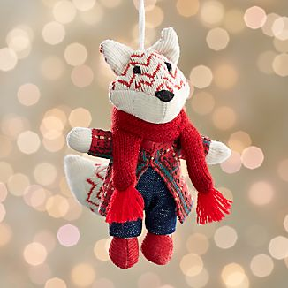 George the Fox Ornament
