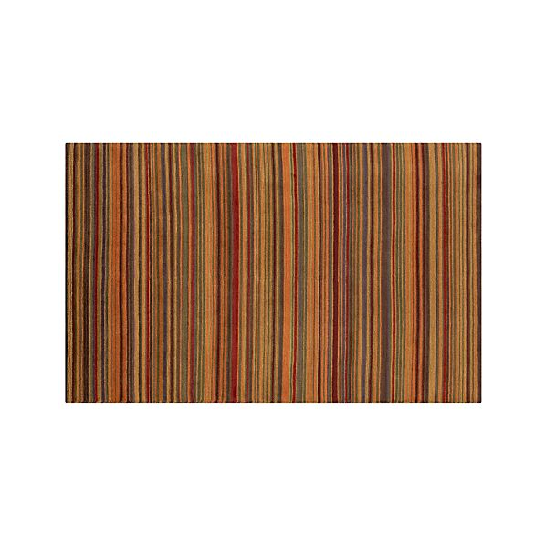 Gianni Rust Wool 5'x8' Rug