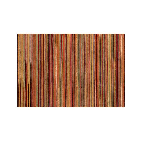 Gianni Rust Wool 6'x9' Rug
