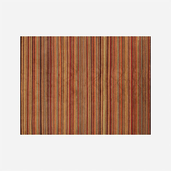 Gianni Rust Wool 9'x12' Rug