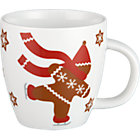 Gingerbread Man Child's Mug. 6 oz.