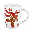 Gingerbread Man Mug. 12 oz.