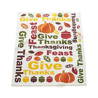 Give Thanks Dishtowel