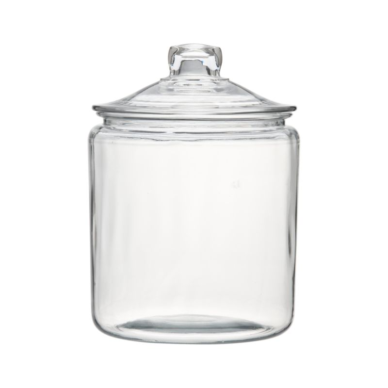 Heritage Hill 128 oz. Glass Jar with Lid