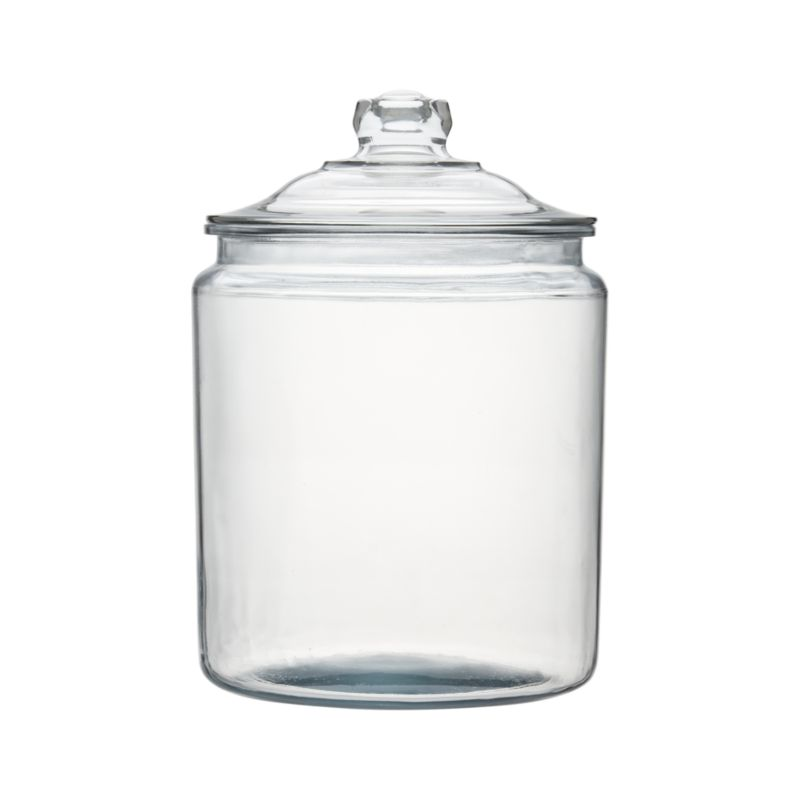 Heritage Hill 256 Oz Glass Jar With Lid Crate And Barrel