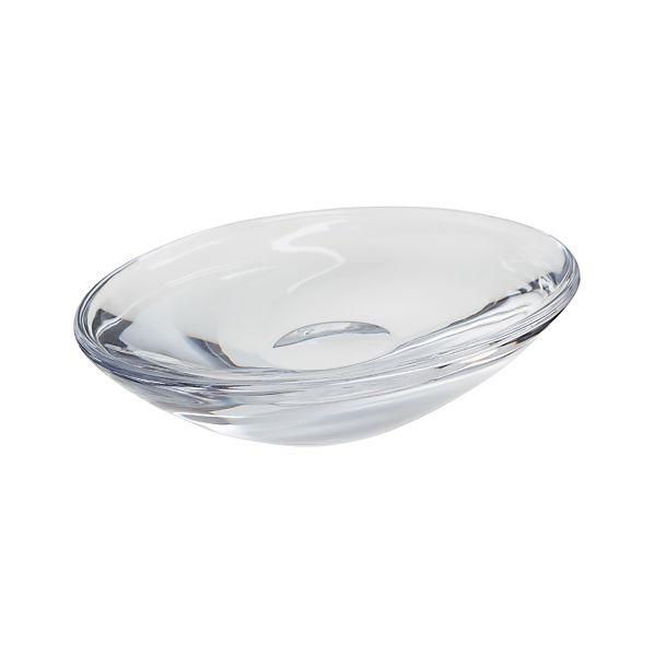 GlassOvalSoapDishAVS10