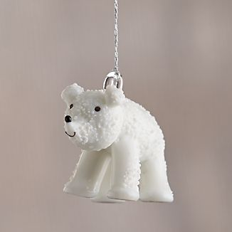 Polar Bear Looking Straight Ornament