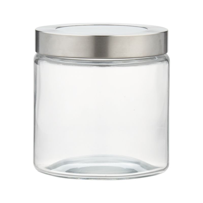Extra Small Glass Storage Container With Stainless Steel