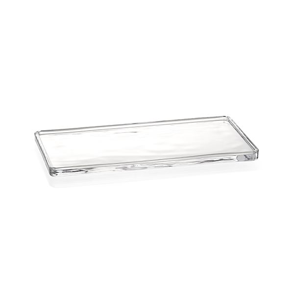 Glass vanity tray crate and barrel - Bathroom accessories vanity tray ...