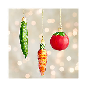 Vegetable Ornaments