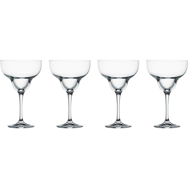 Set of 4 Glory Margarita Glasses
