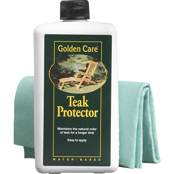 Golden Care 174 Teak Protector Crate And Barrel