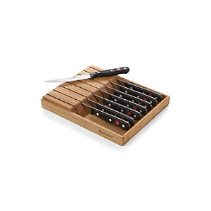 Wüsthof ® Gourmet In-Drawer Steak Knife Set
