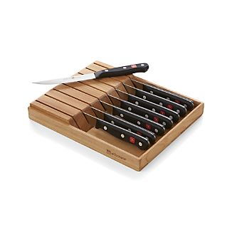 Wüsthof® Gourmet In-Drawer Steak Knife Set