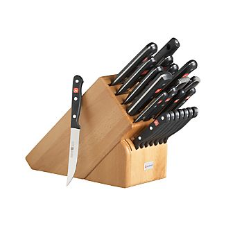 Wüsthof® Gourmet 23-Piece Knife Block Set
