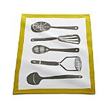 Gourmet Utensils Dishtowel