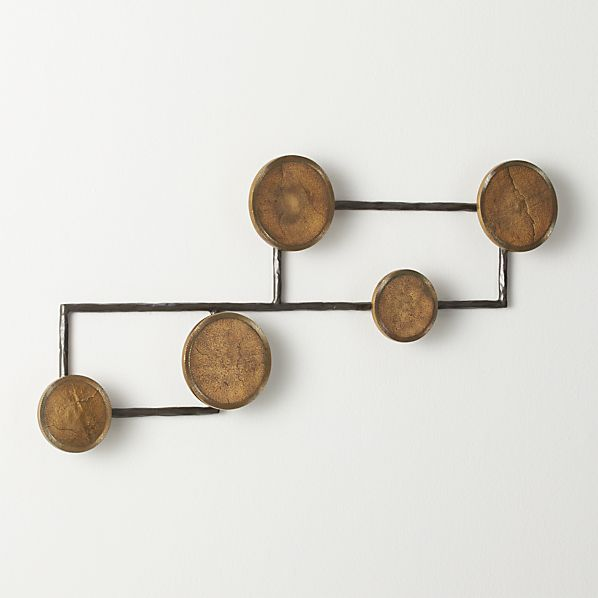 Grady Wall Mounted Coat Rack