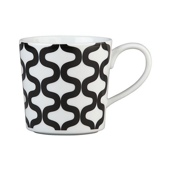Graphic Waves Mug