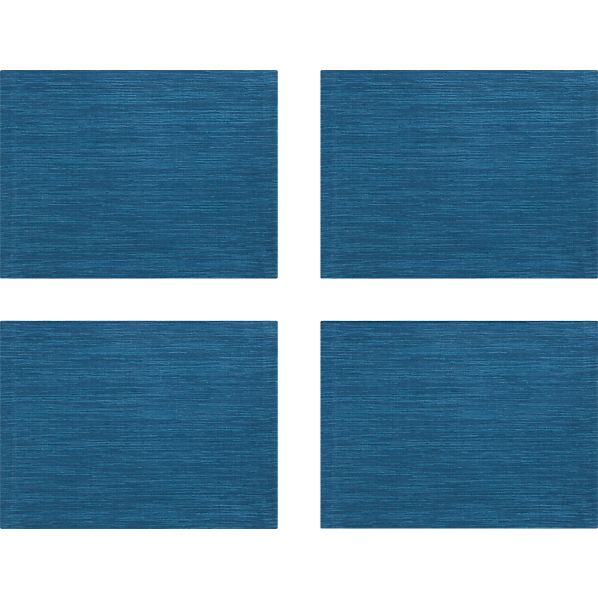 Set of 4 Grasscloth Corsair Placemats