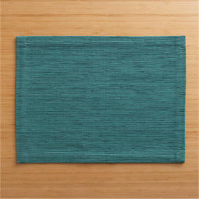 Grasscloth Sea Green Placemat