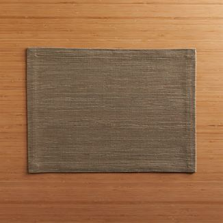 Grasscloth Brindle Placemat