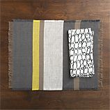 Grayson Placemat and Links Napkin