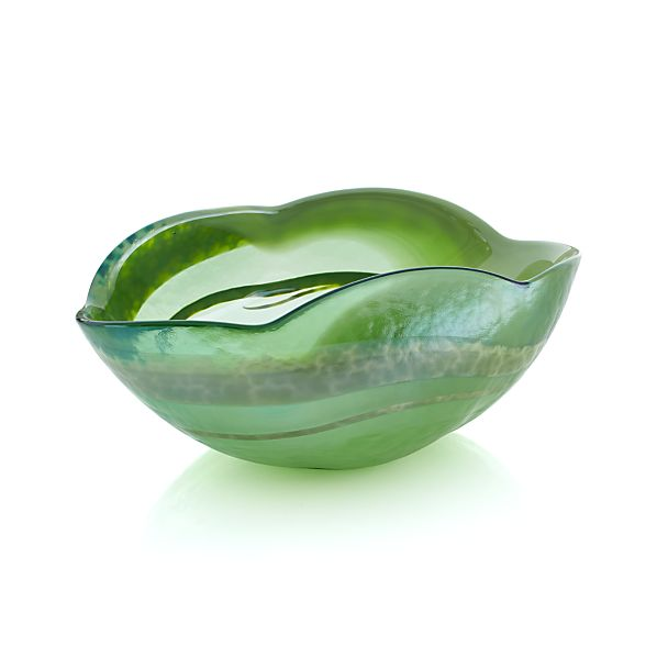 Green Small Petal Bowl