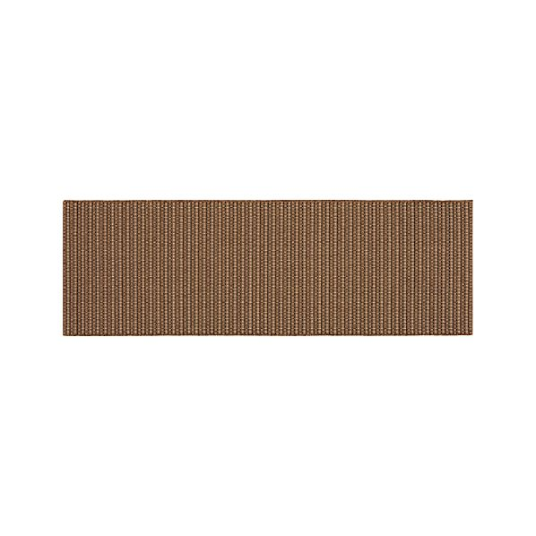 Grid Brown Indoor-Outdoor Runner