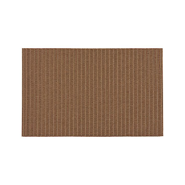 Grid Brown Indoor-Outdoor 8'x10' Rug