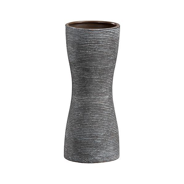 Griffin Grey Vase