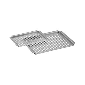 Brushed Stainless Steel Grill Grids