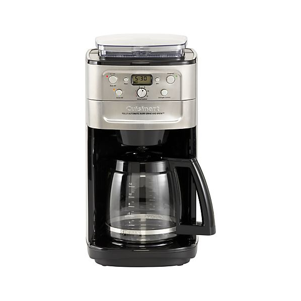 Cuisinart Grind and Brew 12 Cup Coffee Maker Crate and Barrel