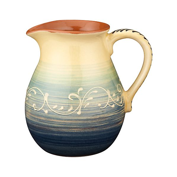 Hacienda Blue Pitcher