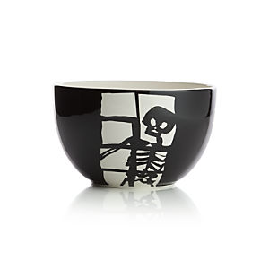 Halloween Skeleton Prep Bowl
