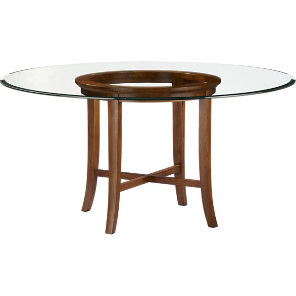 Dining table dining table 60 x 60 for Glass top dining table 36 x 60