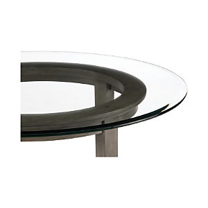 Halo Grey Dining Tables with Glass Top