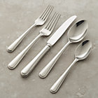 Halsted 20-Piece Flatware Set: four 5-piece place settings.