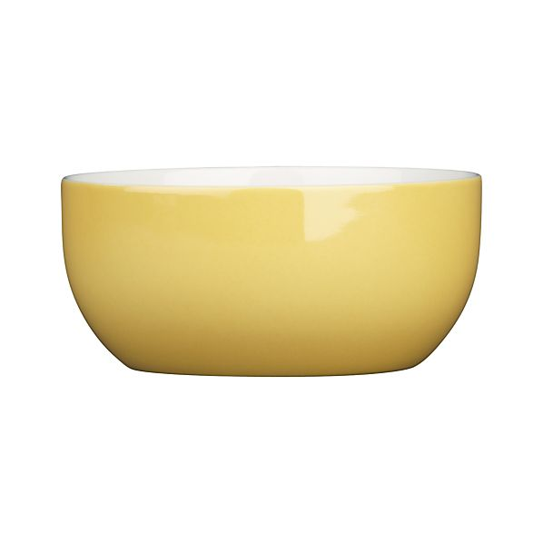 Hamptons Yellow Bowl