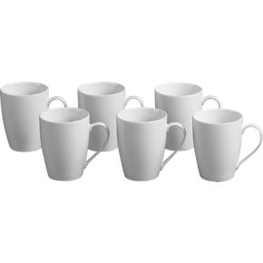 Set of 6 Hana 14 oz. Mugs