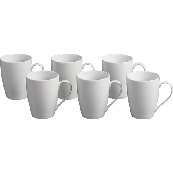 Set of Six Hana Mugs