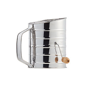 Hand Crank Flour Sifter