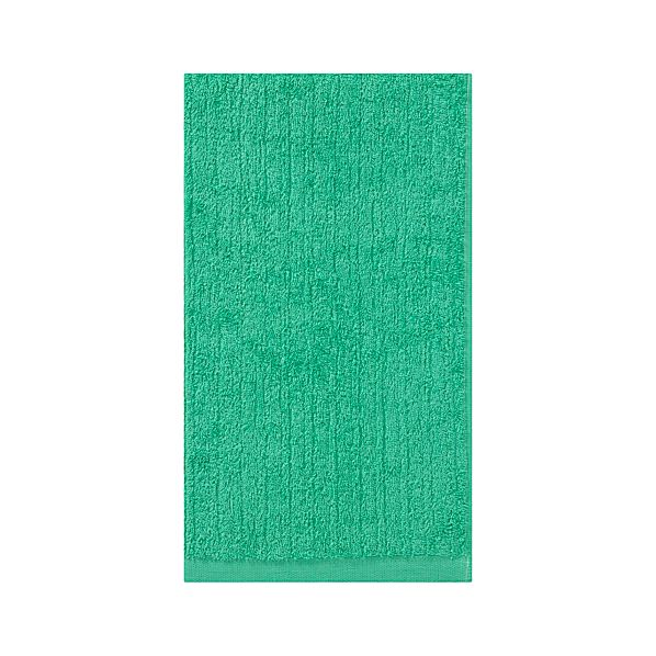 Ribbed Seaglass Hand Towel