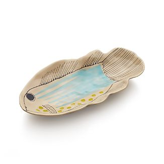 Handpainted Fish Platter