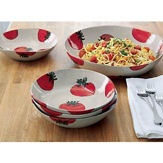Tomato Pasta Bowls